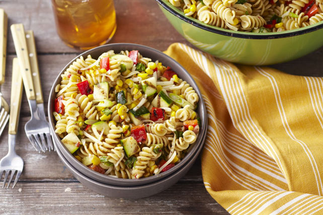 Grilled Vegetable Pasta Salad Image 1