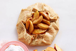 Freestyle Peach Tart