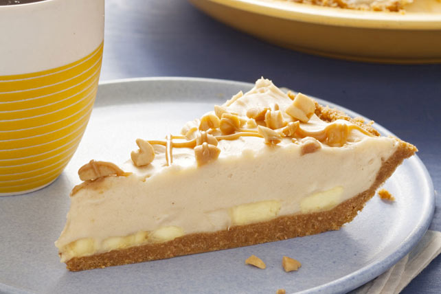 Tarte onctueuse au beurre d'arachide et à la banane Image 1