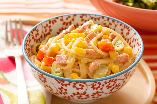 Creamy Mexican Corn-Pasta Toss Image 1