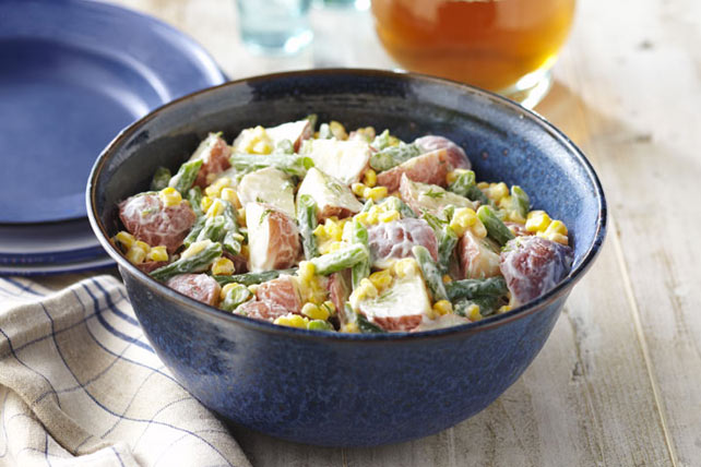 """Dill-icious"" Corn & Potato Salad Image 1"