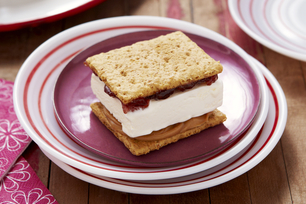 PB&J Ice Cream Sandwiches