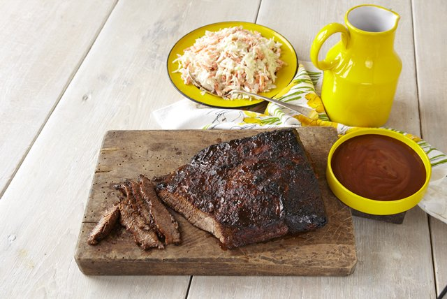 Honey-Cider BBQ Brisket