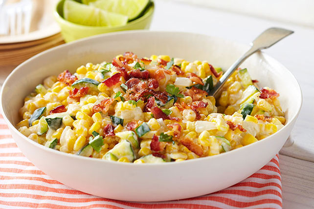 Creamy Zucchini and Corn