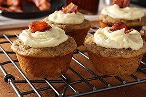 Maple-Bacon Brunch Cupcakes