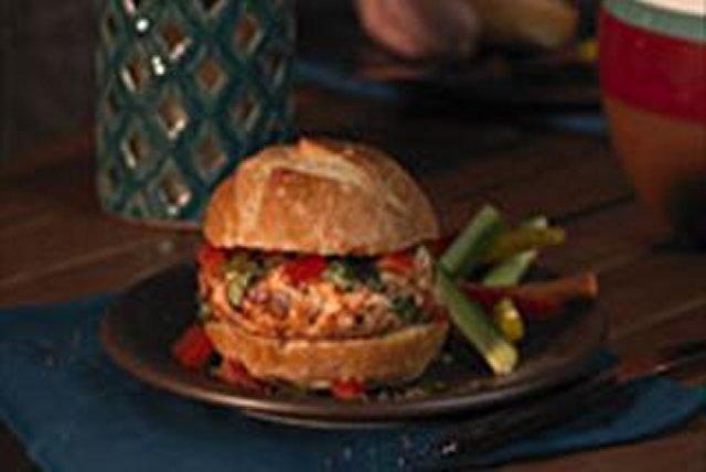 Bruschetta Burger Image 1