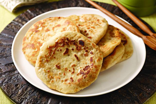 Pains naan au masala et au fromage Image 1