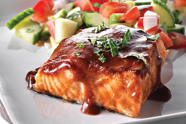 Saumon à la sauce barbecue et au tamarin  Image 1
