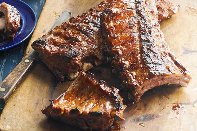 Sweet & Hot Sticky Ribs Image 1