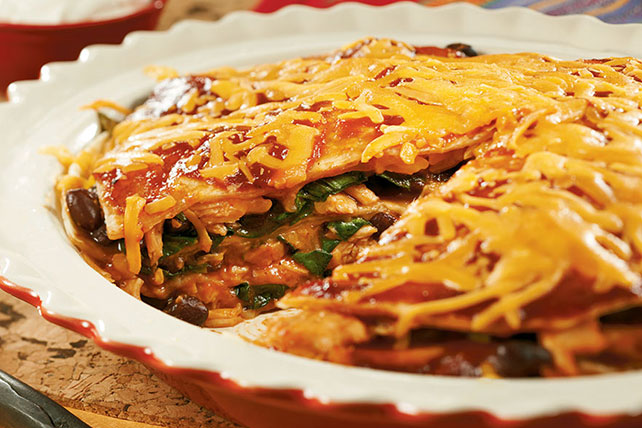 BBQ Tortilla Pie Image 1