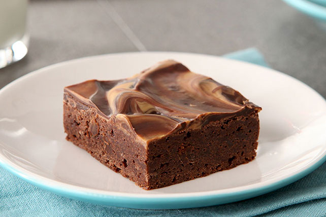 Chocolate-Peanut Butter Brownies Image 1