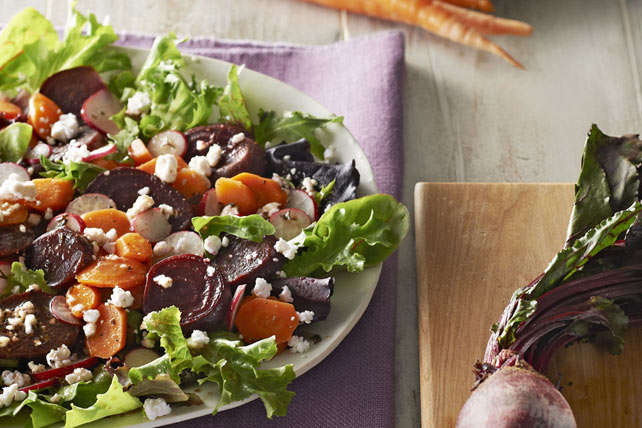 Roasted Carrot and Beetroot Salad