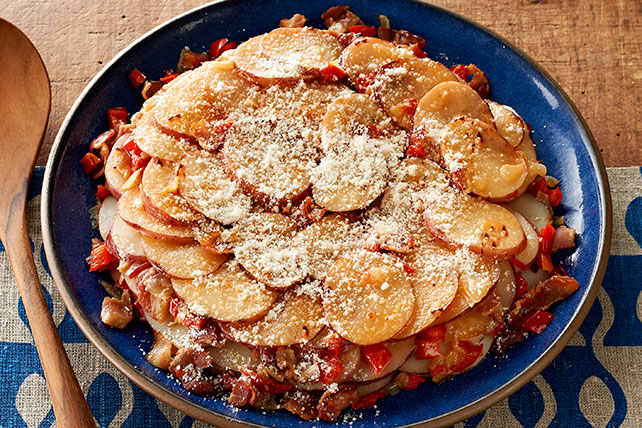 Skillet Parmesan Potatoes Image 1