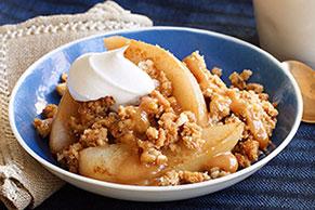 Caramel-Pear Crisp