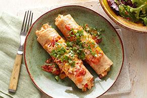 Enchiladas de pollo renovadas