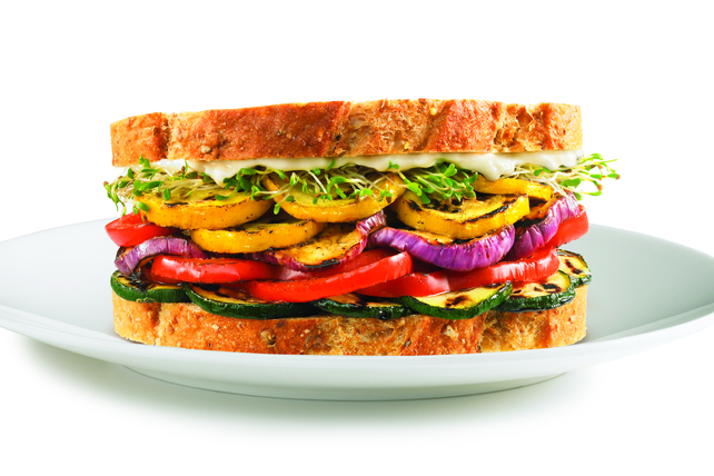 Grilled Vegetable Sandwich Image 1