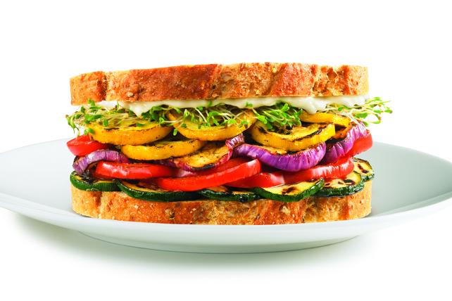 Sandwich aux légumes grillés Image 1