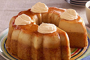 Pumpkin Flan Cake