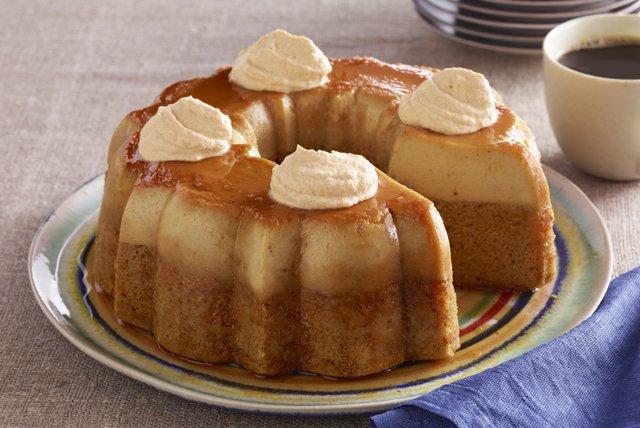 Pastel imposible de calabaza Image 1