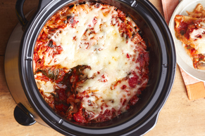 Slow-Cooker Vegetable Lasagna