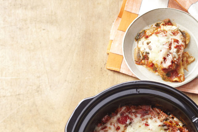 Slow-Cooker Vegetable Lasagna Image 1