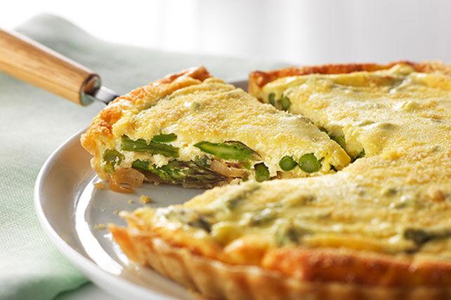 Tarte aux asperges et au parmesan Image 1