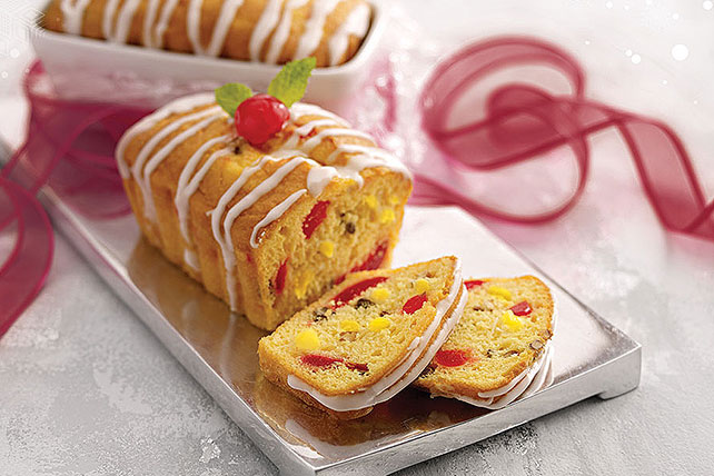 Nutty Pineapple-Cherry Bread