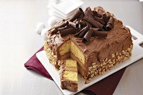 Stunning Peanut Butter-Chocolate Layer Cake