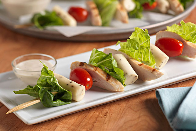 Chicken Caesar Salad Skewers Image 1