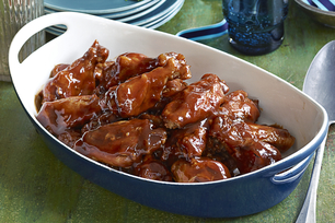 Saucy Slow-Cooker Wings
