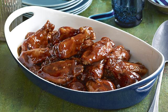 Ailes de poulet en sauce à la mijoteuse Image 1