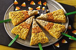 Paletas dulces y crujientes para Halloween