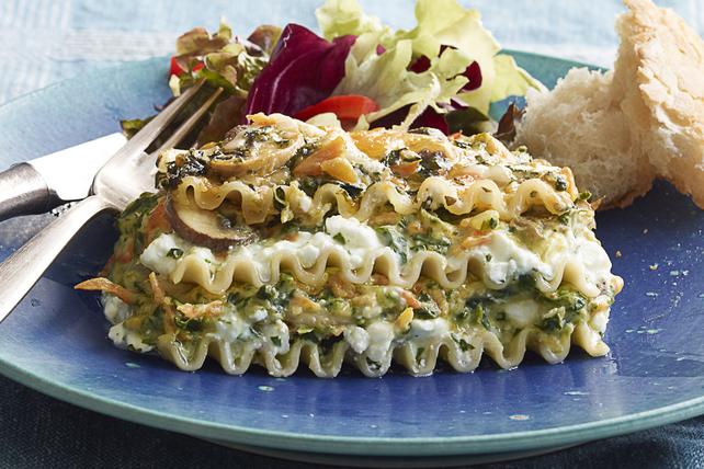 Lasagne aux légumes et au cheddar Image 1