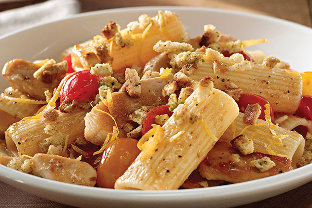 Chicken & Cherry Tomato Pasta Toss