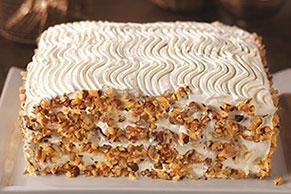 Bakery-Style Carrot and Walnut Cake Recipe