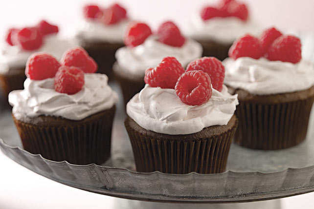 Chocolate-Raspberry Cupcakes