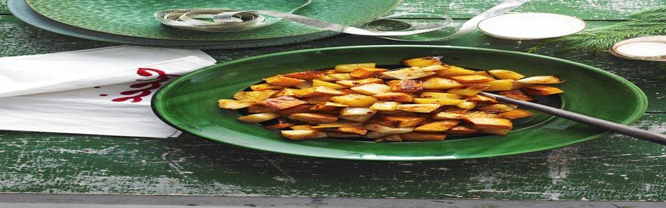 Roasted Sweet Potatoes & Pineapple Image 1