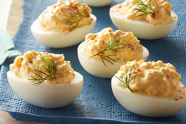 The Best Deviled Eggs Recipe Image 1
