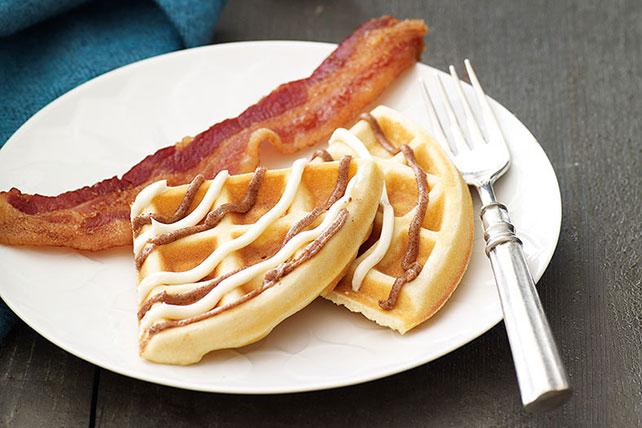 Cinnamon Roll Waffles Image 1