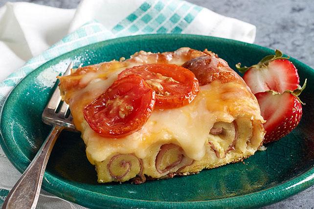 Cheesy Baked Ham Roll-Ups Image 1
