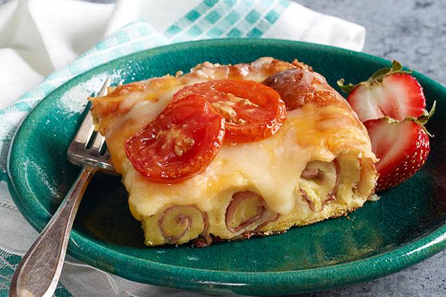 Rollitos de jamón y queso al horno Image 1