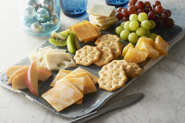 Cheese & Fruit Tray Image 1