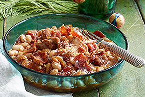 Slow-Cooker Pork Cassoulet