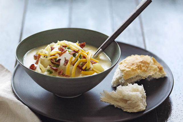 Slow-Cooker Loaded Baked Potato Soup
