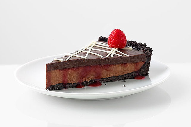 Chocolate and Raspberry Tart Image 1