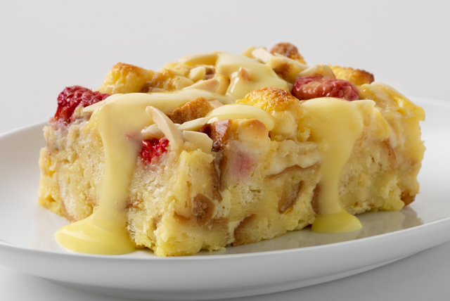 White Choco-Berry Bread Pudding Image 1