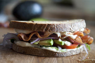 Bacon & Avocado Exploding Sandwich