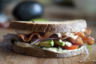 Bacon & Avocado Exploding Sandwich