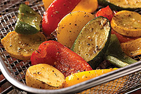 Grilled Garlic & Herb Vegetables