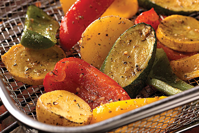 Grilled Garlic & Herb Vegetables Image 1